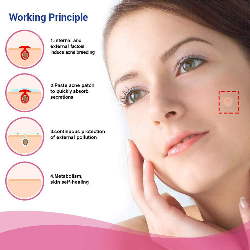 Blemish and Acne Treatment Skin Healing Spot Patches Beauty & Personal Care - DailySale