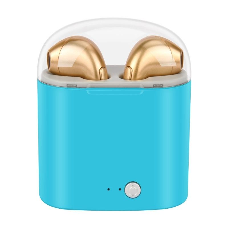 Bluetooth Mini Earbuds - Assorted Colors Headphones & Speakers Blue - DailySale