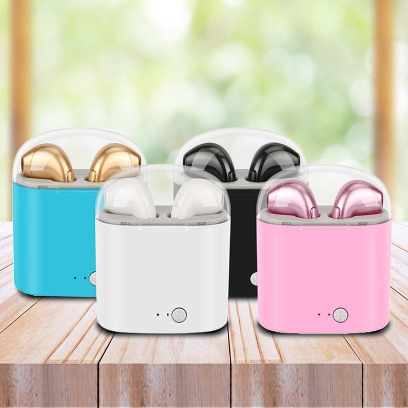 Bluetooth Mini Earbuds - Assorted Colors Headphones & Speakers - DailySale