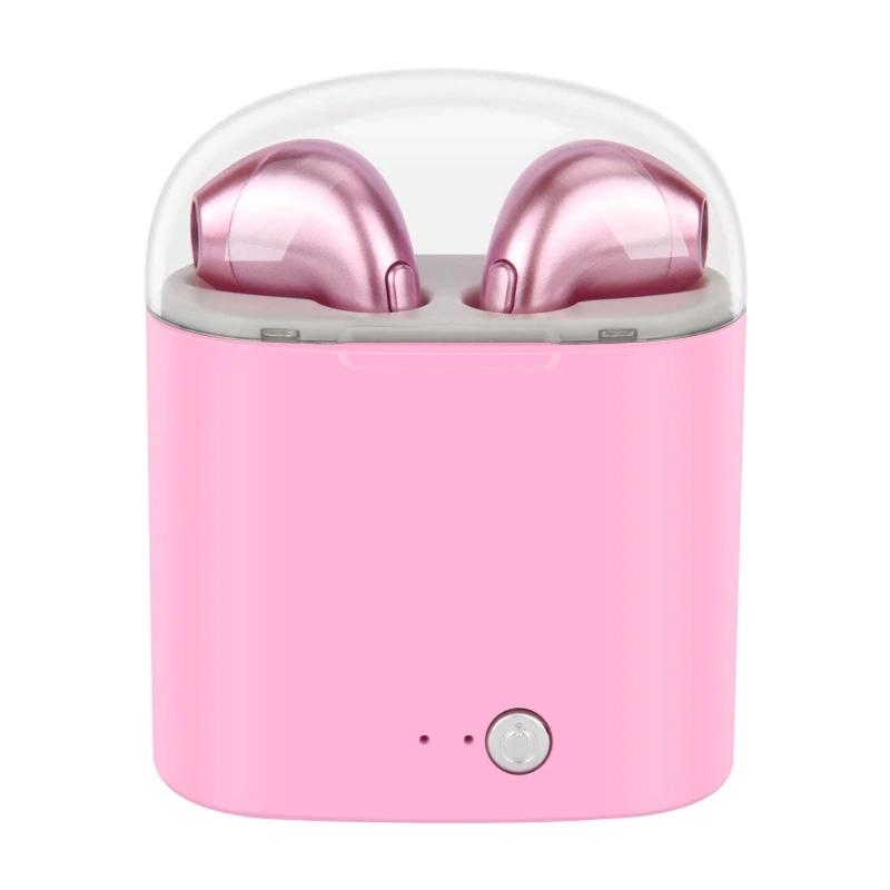 Bluetooth Mini Earbuds - Assorted Colors Headphones & Speakers Pink - DailySale