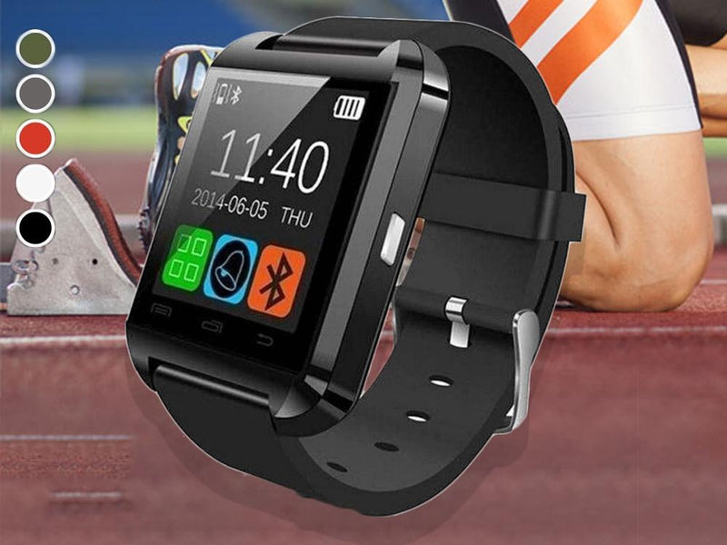 Bluetooth Smart Watch with Phone Pairing, Pedometer, Sleep Monitoring & More Gadgets & Accessories - DailySale