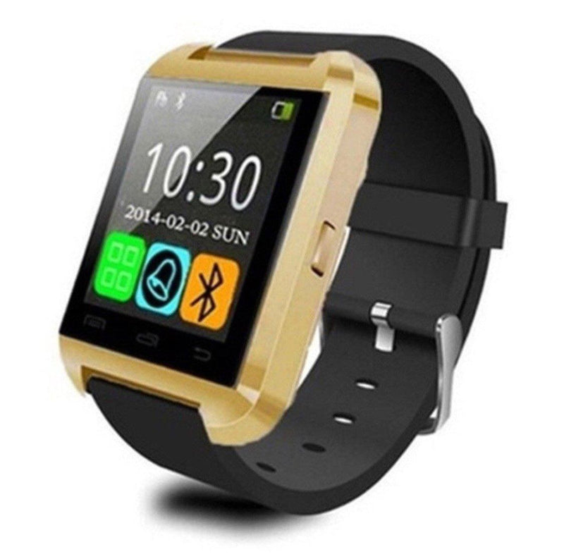 Bluetooth Smart Watch with Phone Pairing, Pedometer, Sleep Monitoring & More Gadgets & Accessories Gold - DailySale