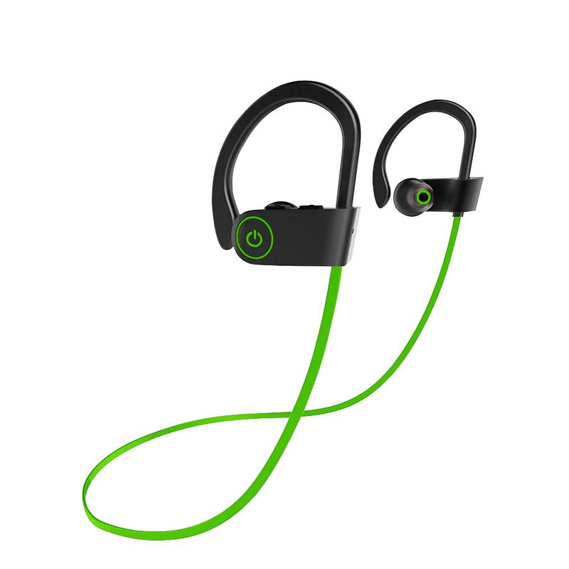 Bluetooth Wireless Sport Headphones Headphones & Speakers Green - DailySale
