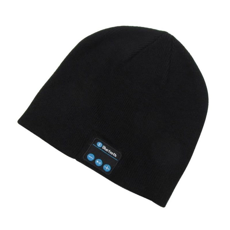 Bluetooth Wireless Winter Beanie Hat - Assorted Colors Women's Apparel Black - DailySale