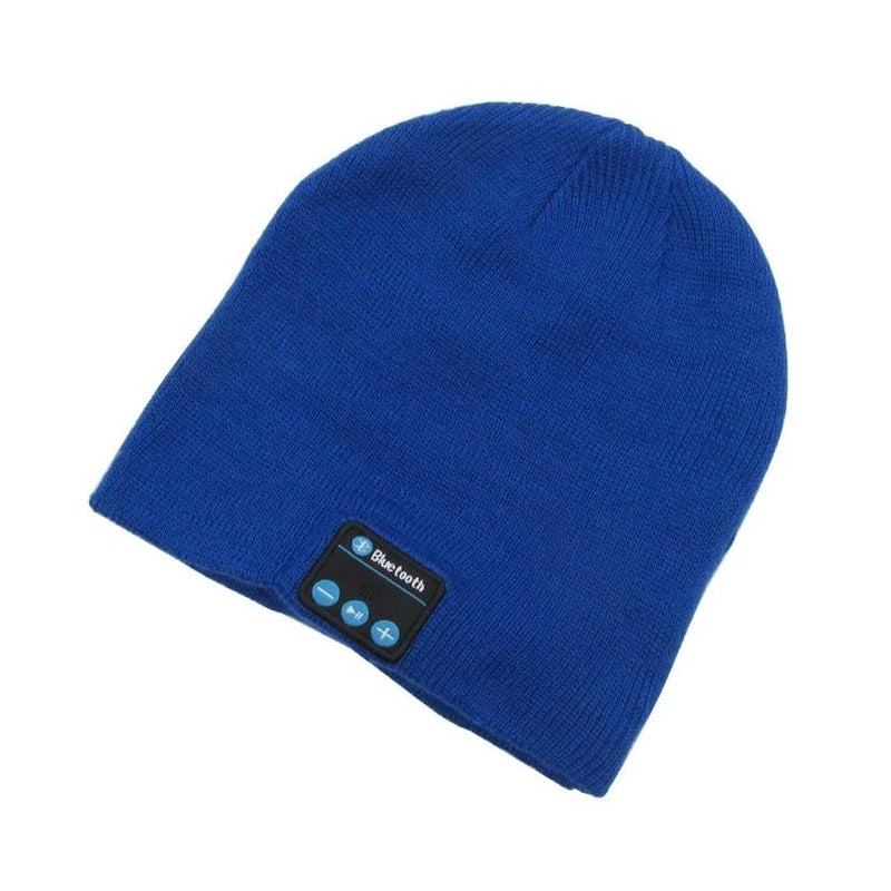 Bluetooth Wireless Winter Beanie Hat - Assorted Colors Women's Apparel Blue - DailySale