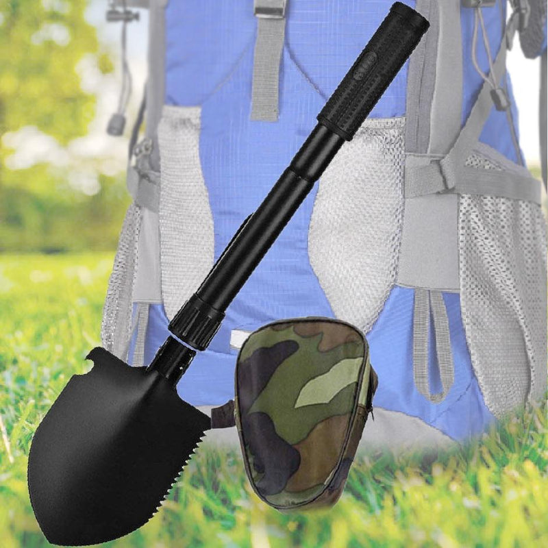BoBKY - Multifunction Folding Military Shovel With Carrying Bag Sports & Outdoors - DailySale