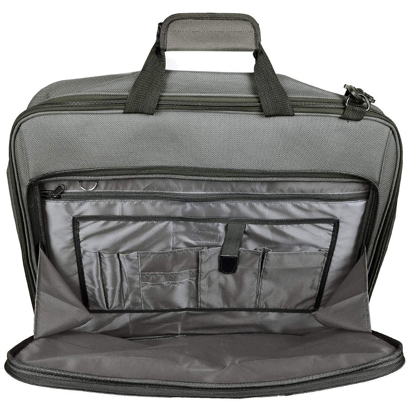 Bolford Travel Garment Bag For Business Trips And Travel With Padded Computer Pocket