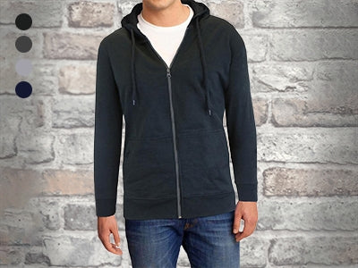 Men's Fleece-Lined Zip Sweater Hoodie - DailySale, Inc