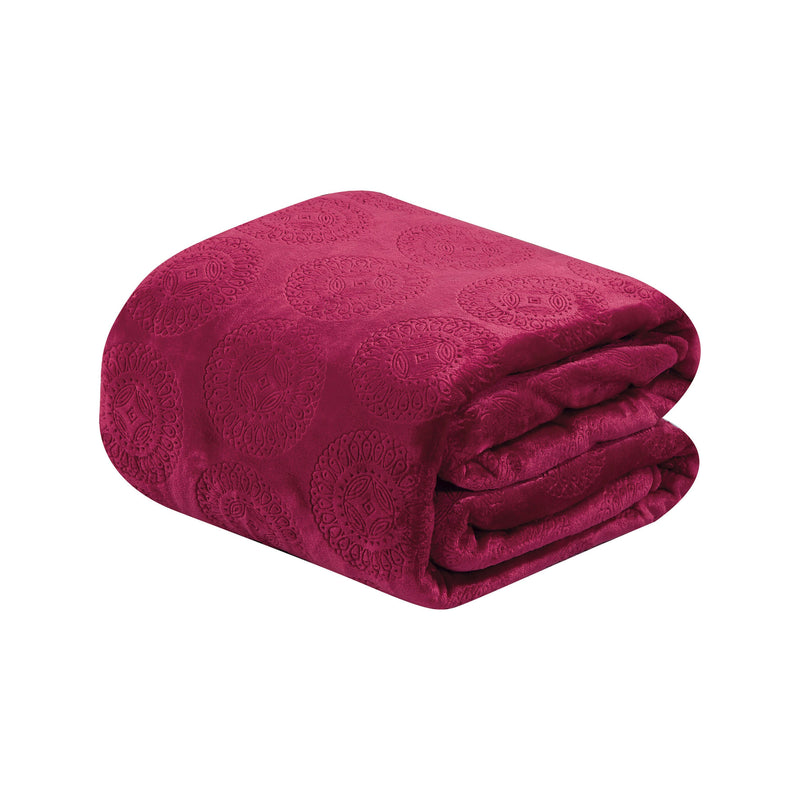 Caesar French Collection Flannel Fleece Blanket