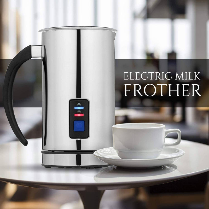 Chef's Star Milk Frother - Automatic Foam Maker & Creamer For Hot Or Cold Milk Steamer Kitchen Essentials - DailySale