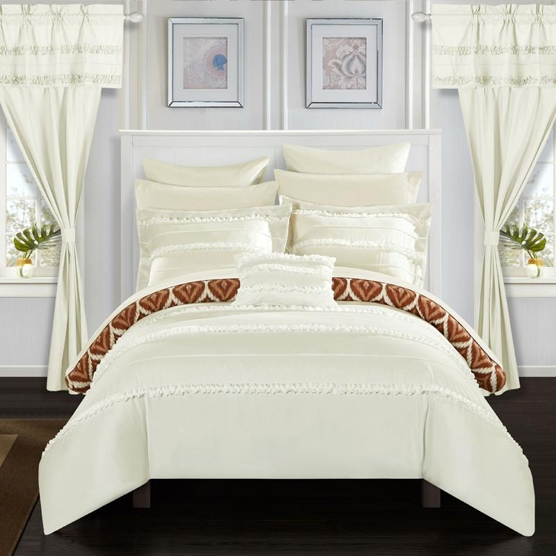 Chic Home Adina 20 Piece Reversible Comforter Set Bed Linen & Bedding - DailySale