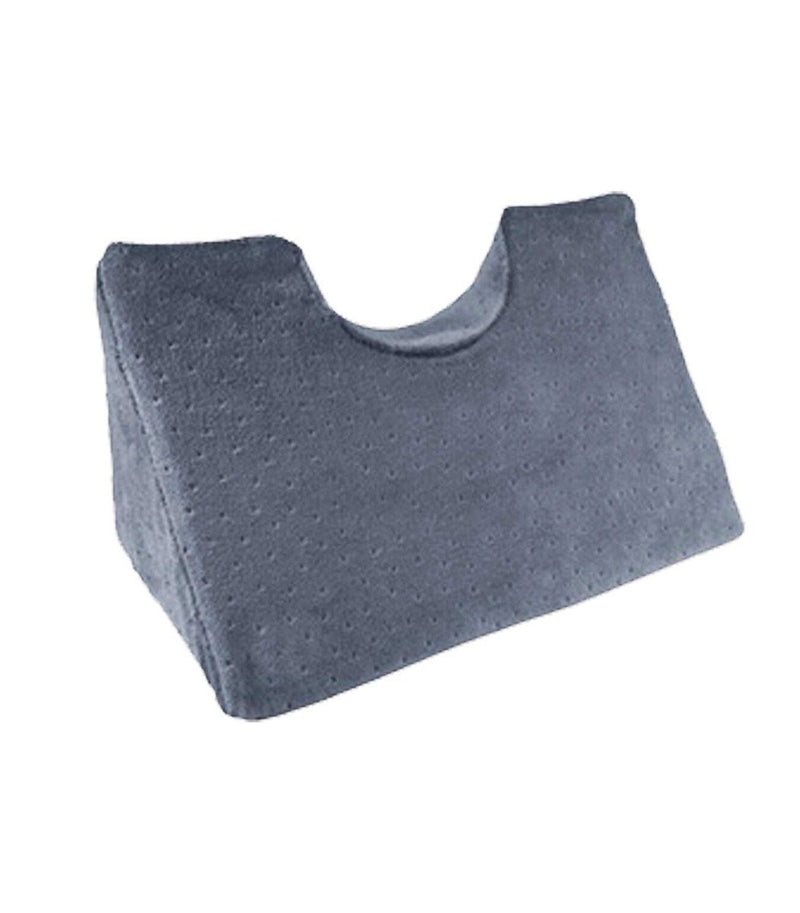 Chiropractic Cervical Traction Neck Wedge Pillow Wellness & Fitness Gray - DailySale