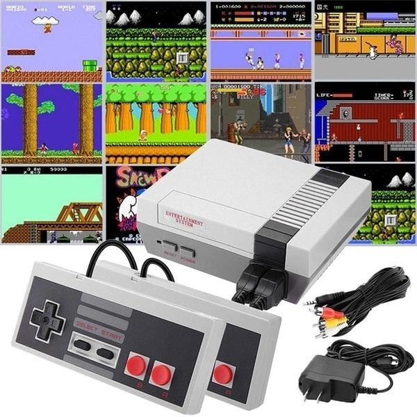 Classic Games Console with 500+ Games Built in and 2 Controllers Toys & Games - DailySale