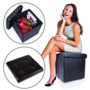 Collapsible Storage Ottoman & Foot Rest Furniture & Decor - DailySale