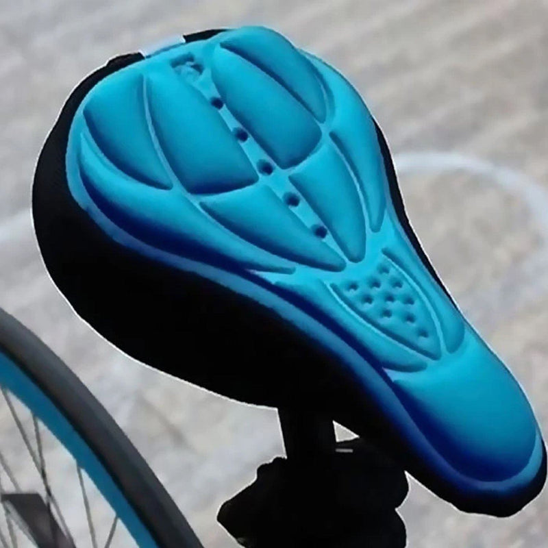 Comfort 3D Saddle Cushion Bicycle Seat Cover Sports & Outdoors Blue - DailySale
