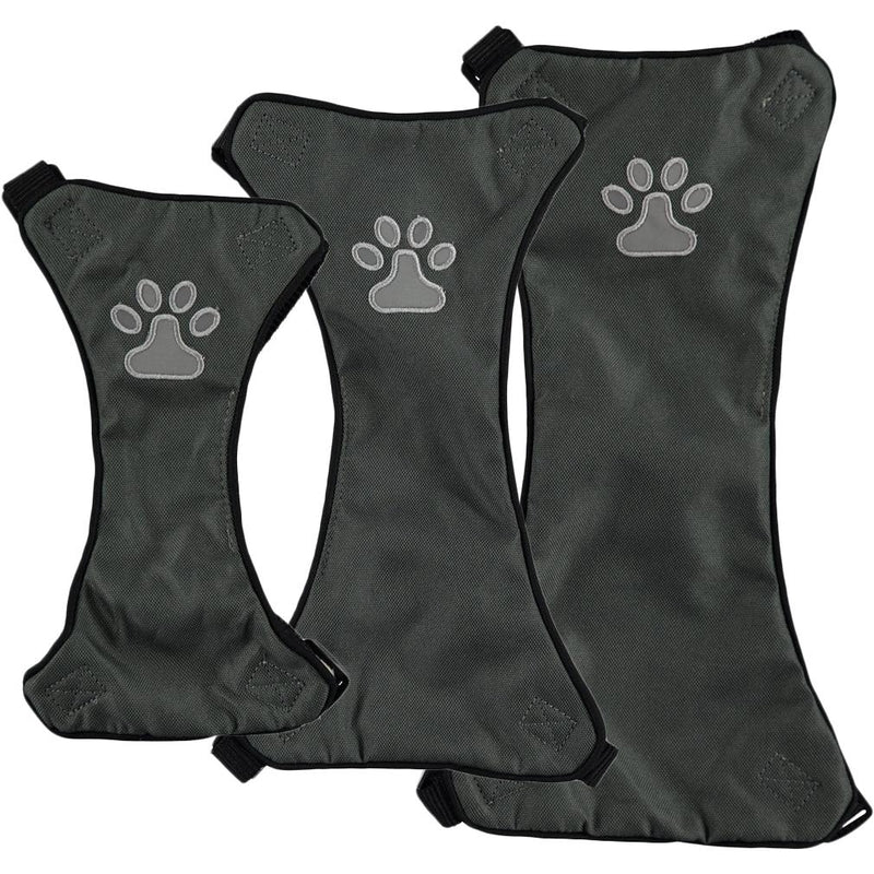 Comfort Soft Adjustable Harness Outer Vest with Soft Handle Pet Supplies L Gray - DailySale