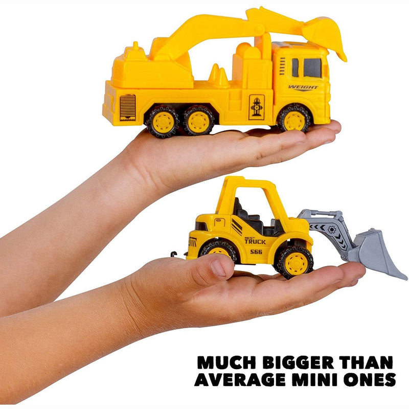 Construction Trucks Toy Set Toys for Kids Boys and Girls Age 3 Year Old & Up Toys & Games - DailySale