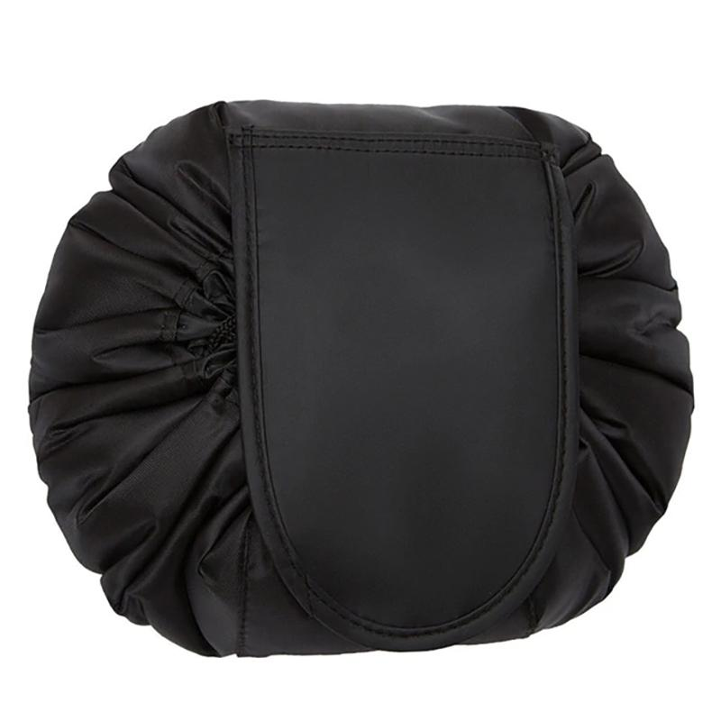 Cosmo Cinch and Go Drawstring Travel Makeup Bag Beauty & Personal Care Black - DailySale