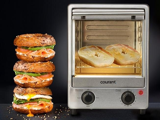 Courant 900-watts 4 Slice Toastower Kitchen Essentials - DailySale