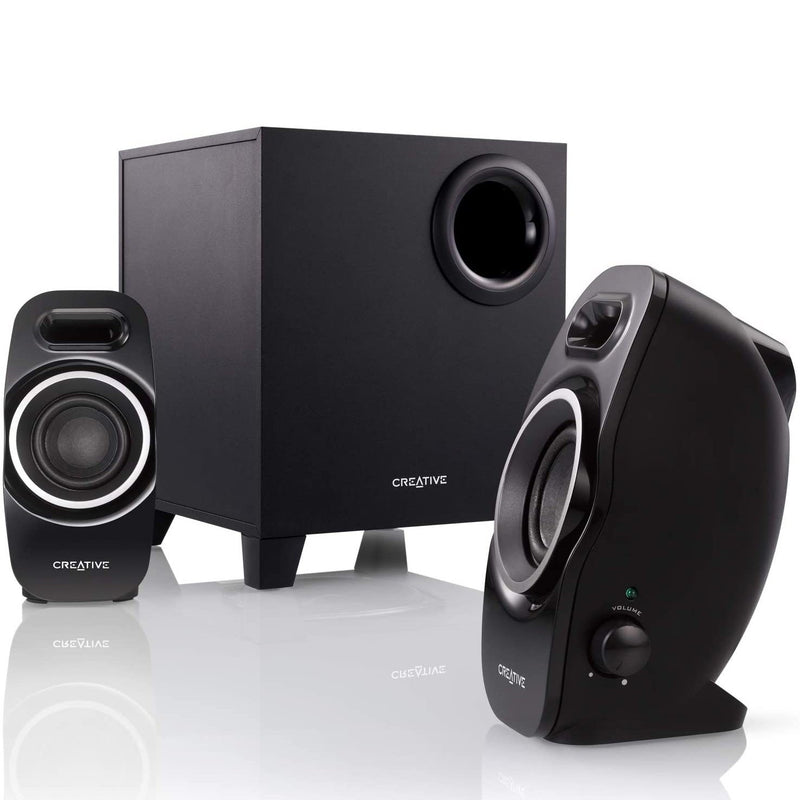 Creative A250 2.1 Multimedia Speaker System Headphones & Speakers - DailySale