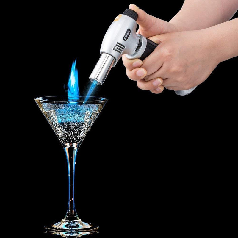 Culinary Butane Blow Torch Chef Kitchen Kitchen Essentials - DailySale
