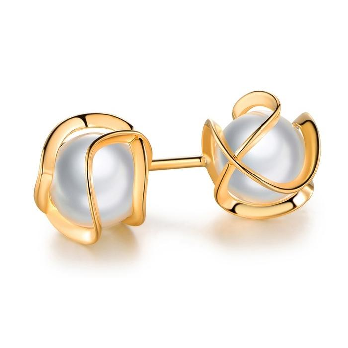 Freshwater Pearl Cage Earrings | Buy Affordable Earrings Online Now