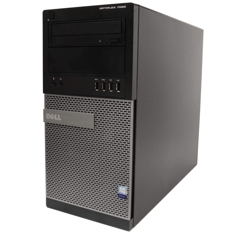 Dell Optiplex 7020 Tower Computer PC, 3.20 GHz Intel i5 Quad Core Gen 4 Computers - DailySale
