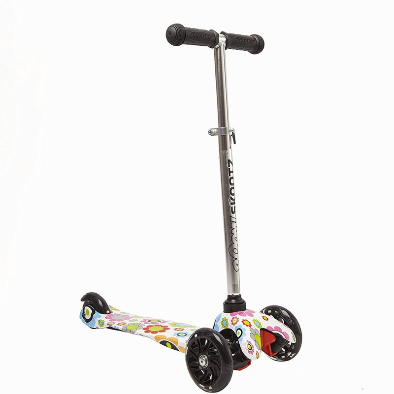 Deluxe 3 Wheel MINI Scooter with Adjustable Handlebars and Light Up Wheels Toys & Games - DailySale