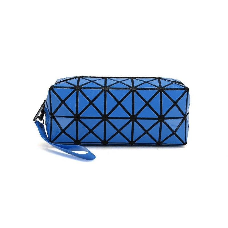 Diamond Design Cosmetic Travel Bag - Assorted Colors Beauty & Personal Care Blue - DailySale
