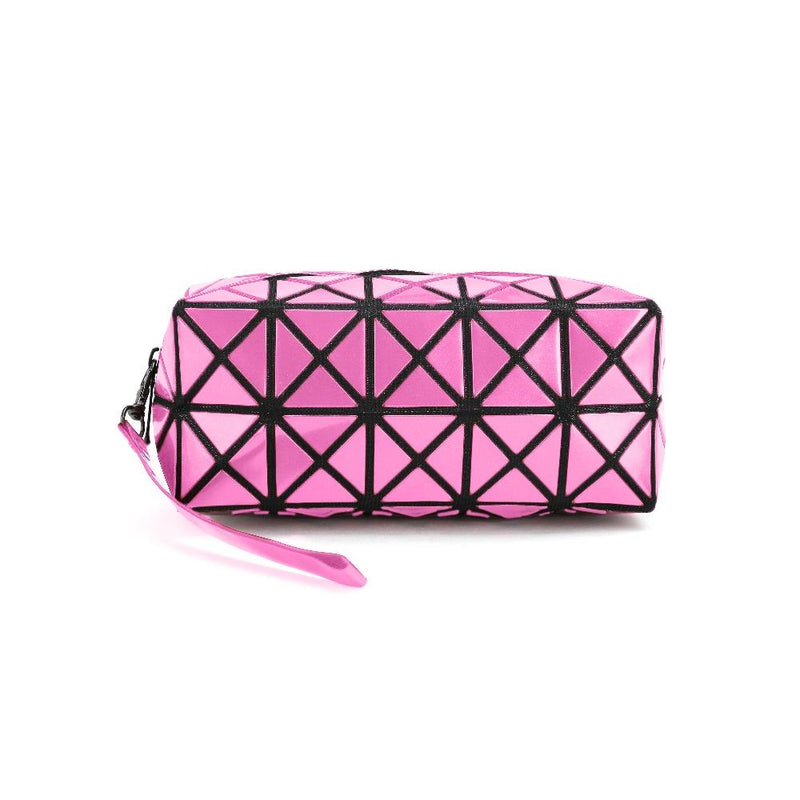 Diamond Design Cosmetic Travel Bag - Assorted Colors Beauty & Personal Care Pink - DailySale