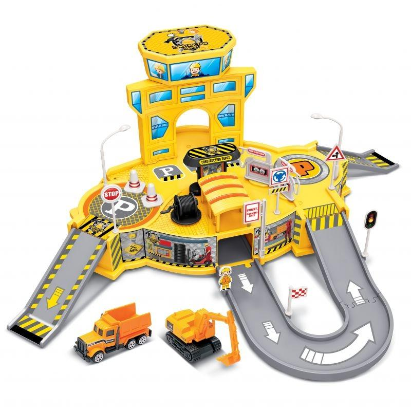 Diecast Cruisers 1:64 Depot Playset Toys & Games Construction Depot - DailySale