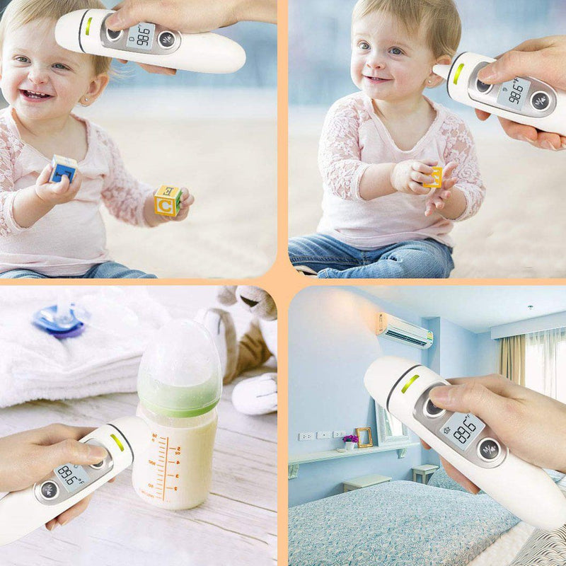 Digital Infrared Forehead and Ear Thermometer - FC-IR100 Wellness & Fitness - DailySale