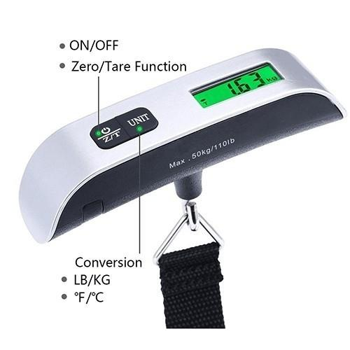 Digital Luggage Scale Gadgets & Accessories - DailySale