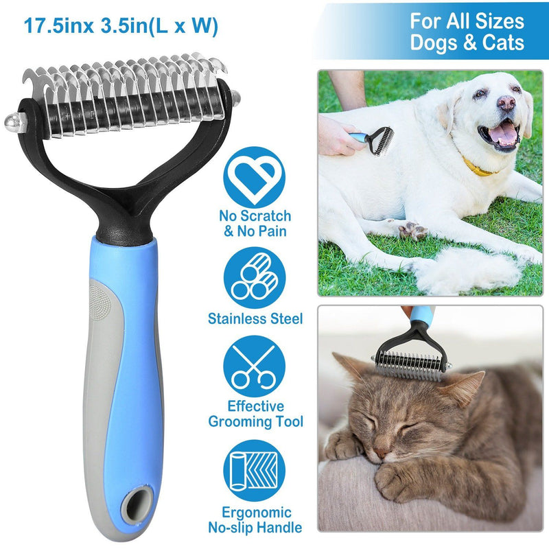 Dog and Cats 2 Sided Grooming Rakes Pet Supplies - DailySale