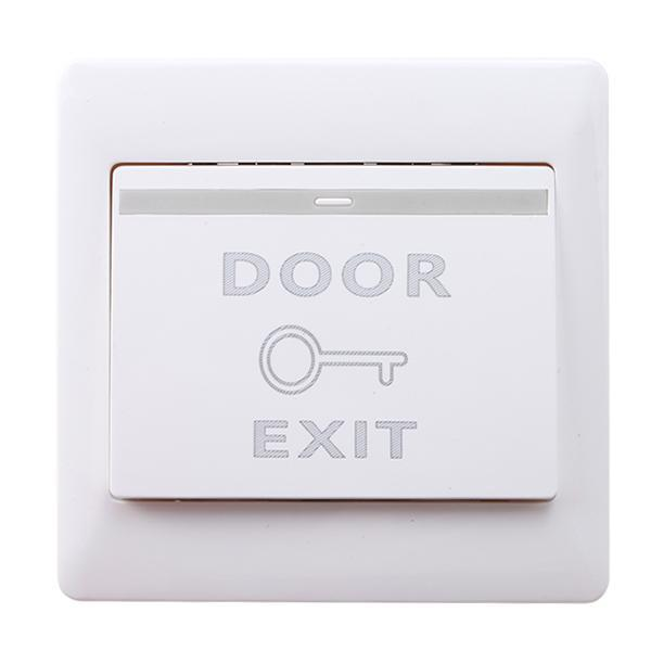 Door Exit Button Push Release Open Switch Panel for Entry Access Control System Home Improvement - DailySale