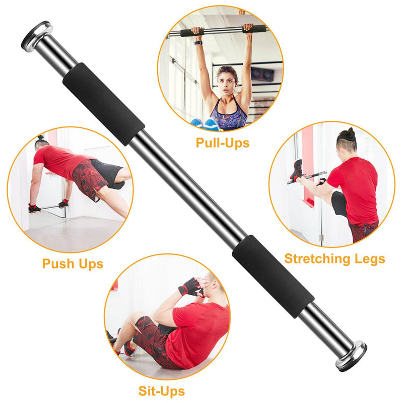 Doorway Pull Up Bar Exercise Gym Fitness - DailySale