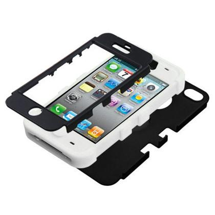 Double Layer Shockproof Hybrid Case for iPhone 4 & 4s Phones & Accessories - DailySale
