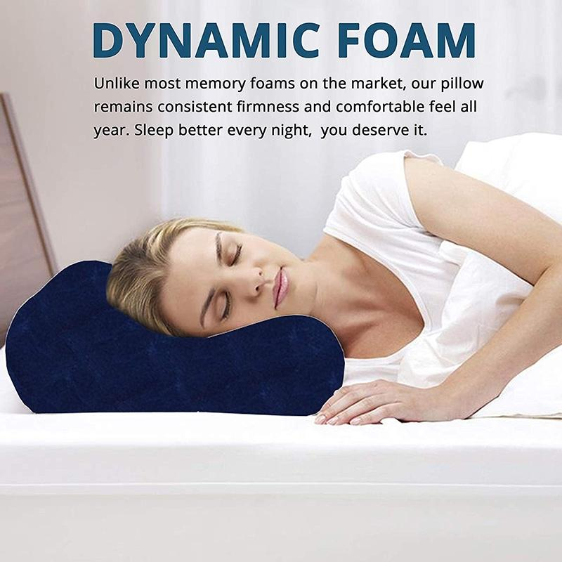 Dr. Franklyn's Contour Memory Foam Pillow Wellness & Fitness - DailySale