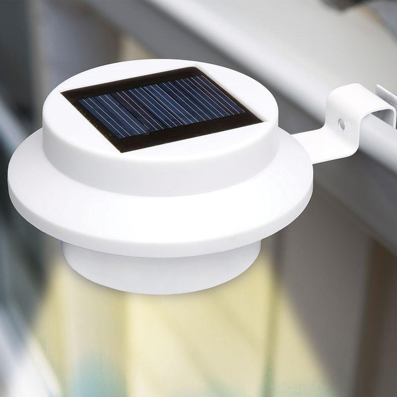 4-Pack: Solar-Powered LED Outdoor Lights