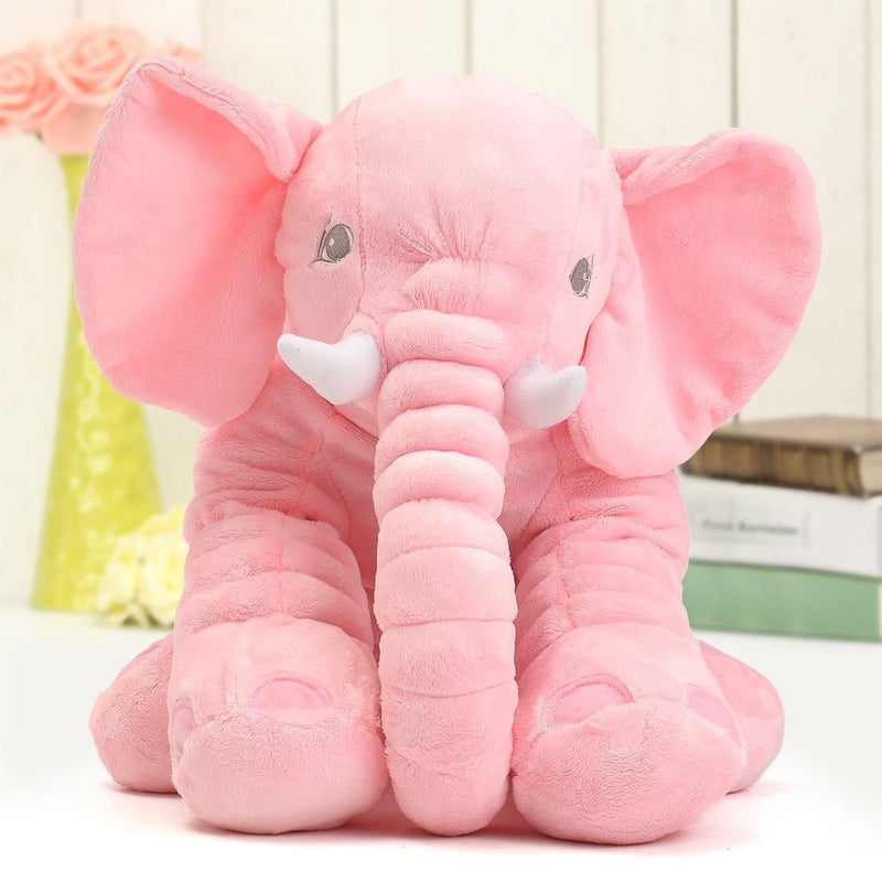 Elephant Plush Pillow - Assorted Colors Linen & Bedding - DailySale