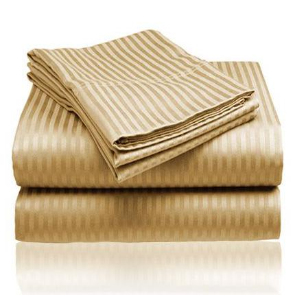 Embossed Microfiber Sheets Bed & Bath Queen Gold - DailySale