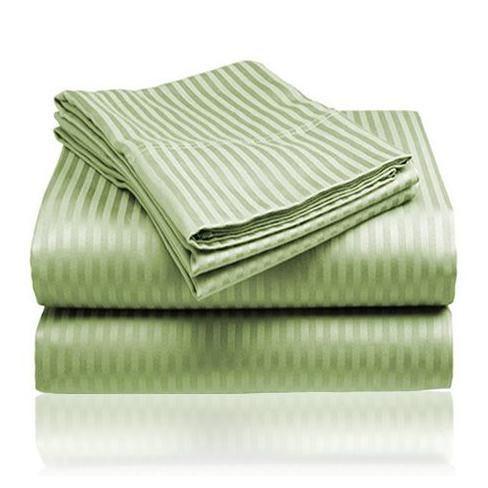 Embossed Microfiber Sheets Bed & Bath Queen Light Sage - DailySale
