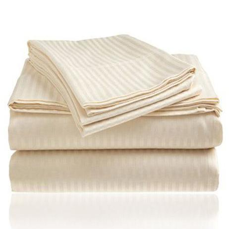 Embossed Microfiber Sheets Bed & Bath Twin Ivory - DailySale