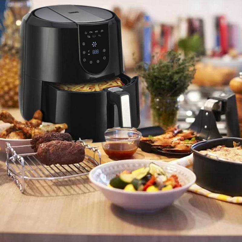 Emerald Air Fryer 5.2 Liter Capacity w/ Digital LED Touch Display Kitchen Essentials - DailySale