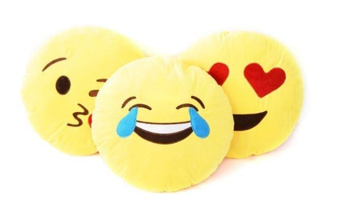 Emoticon Plush Decorative Pillows - Assorted Styles Linen & Bedding - DailySale