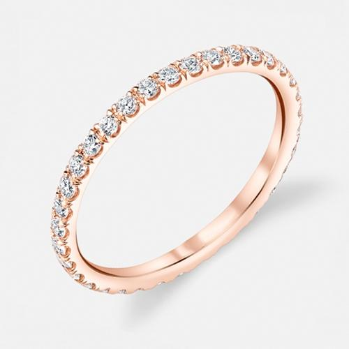 Eternity Ring for Women Jewelry 6 Rose Gold - DailySale