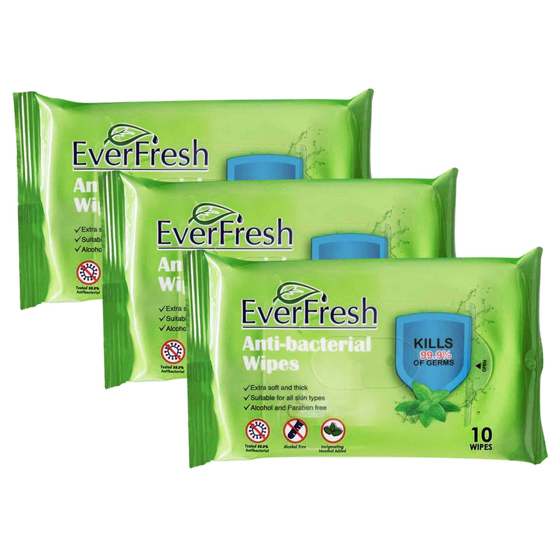 Everfresh Anti-Bacterial Wipes Beauty & Personal Care - DailySale