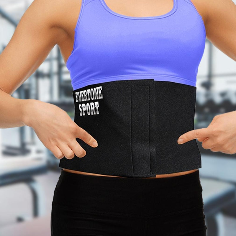 Evertone Neoprene Sweat Inducing Waist Trimmer Wellness & Fitness - DailySale