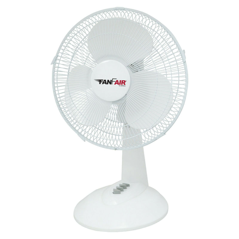 FanFair 12-inch 3-Speed Desktop Fan Household Appliances - DailySale