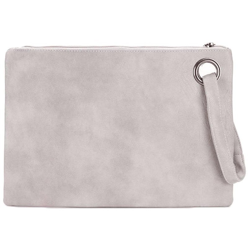 Fashion Solid Women's Envelope Bag Handbags & Wallets Beige - DailySale